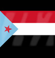 yemen flag vector image vector image