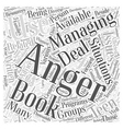 Are there Anger Management Books Available Word vector image vector image