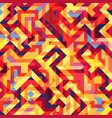 beautiful colored polygons on a bright geometric vector image vector image