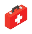First aid isometric 3d icon vector image vector image