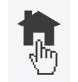 pointer design vector image vector image
