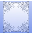 Template for greeting card invitation vector image vector image
