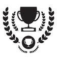 Win Cup Icon Winning Award Symbol Pictogram vector image vector image