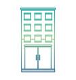 building construction monochrome icon vector image vector image