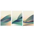 hand drawn line with line wave pattern abstract vector image vector image