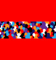 modern people - abstract art vector image