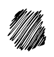 Pencil Hand Drawn Doodle Border vector image vector image