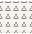 Seamless texture of hand-painted triangles