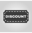 The discount icon Coupon and gift offer symbol vector image