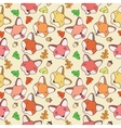 The pattern of forest foxes vector image vector image