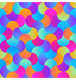 trendy material design seamless pattern vector image