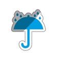 Umbrella symbol Delivery and logistics vector image