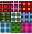 Classic tartan british traditional stripe plaid vector image