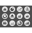information graphic icons vector image