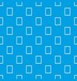 sketchbook pattern seamless blue vector image vector image