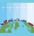 transport and vehicles evolution timeline