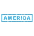 America Rubber Stamp vector image vector image