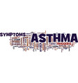 asthma discussed text background word cloud