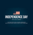 background style independence day art vector image vector image