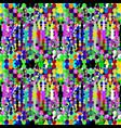 Bright graffiti geometric seamless pattern grunge