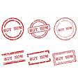 Buy now stamps vector image