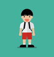 Cute cartoon boy vector image vector image