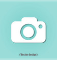 photo icon design flat vector image