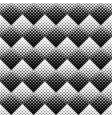 seamless geometrical black and white square vector image vector image