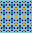 traditional colorful arabic seamless pattern vector image