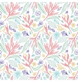 Tropical Sketch Pattern vector image vector image