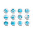 office equipment buttons vector image