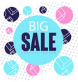 big sale special offer banner template design vector image vector image