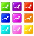 bird set 9 vector image vector image