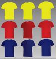 classic t shirt vector image