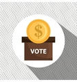 elections concept design vector image vector image