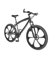 moden bicycle isolated on vector image vector image