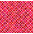 red square pattern background - graphic vector image vector image