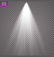 spotlight light effect vector image