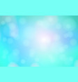 turquoise blue purple abstract with bokeh lights vector image vector image