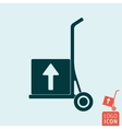 Trolley icon isolated vector image