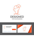 business logo template for brainstorm creative vector image vector image