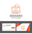 business logo template for cloud game online vector image