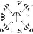 classic elegant opened umbrella icon vector image
