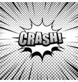 comic monochrome burst concept vector image vector image