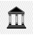 court building design vector image