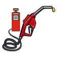 fuel station vector image vector image