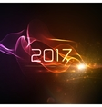 happy new year 2017 holiday 2017 and abstract vector image