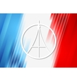 Pray for Paris French flag colors vector image vector image