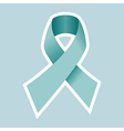 Prostate Cancer symbol in blue vector image vector image