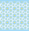 seamless background with camomiles vector image vector image